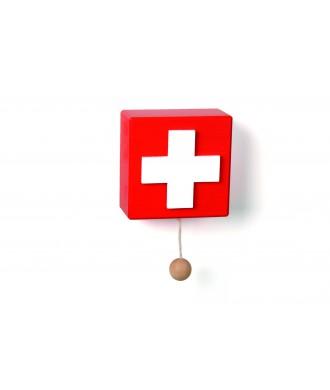 Boîte à musique croix suisse