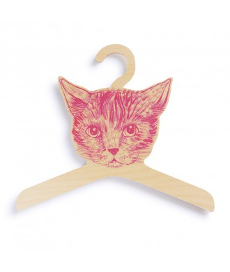 petit cintre motif chat