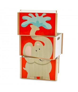 Boîte empilable éléphant