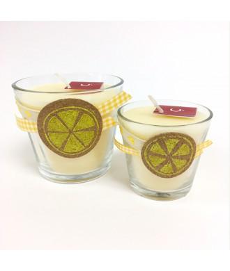 Bougies citron