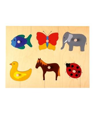 Puzzle animaux divers
