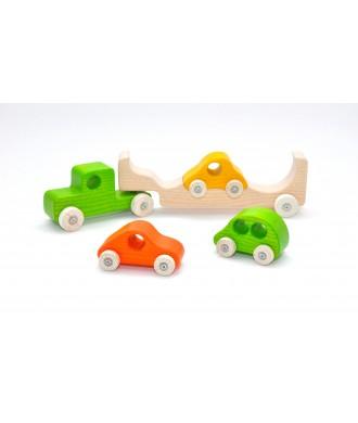 Auto-transporteur 3 couleurs