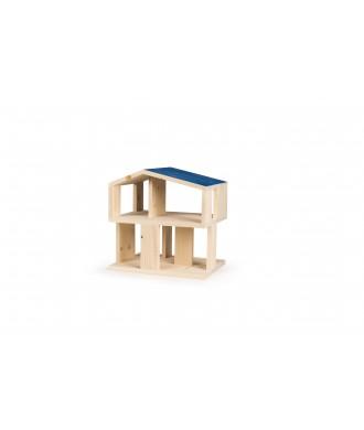 Maison de poupée toit bleu Petite