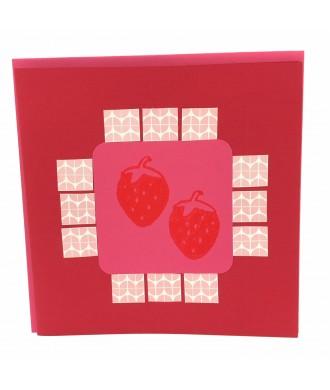 Carte fraise