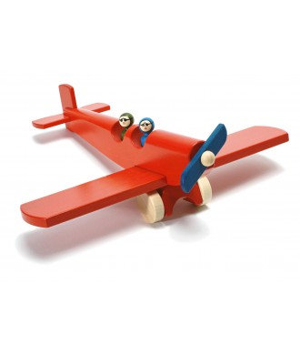 Avion Charles rouge