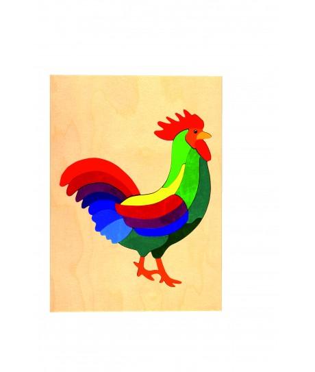Puzzle coq