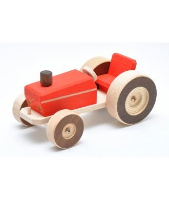 Tracteur rouge Sami