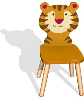 Chaise tigre