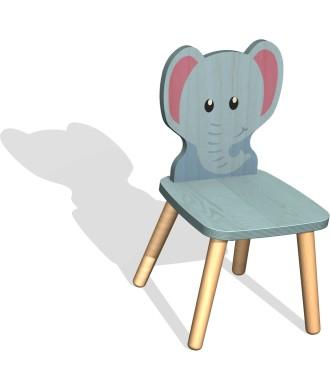 Chaise éléphant