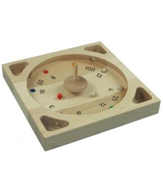 Gyroscope en bois