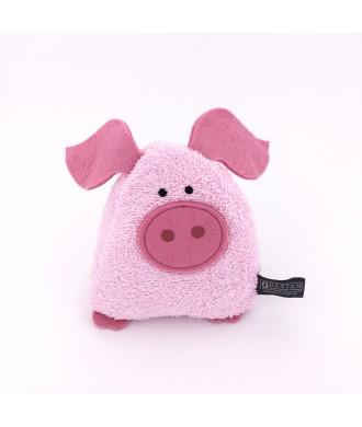 Coussin aux noyaux de cerise cochon