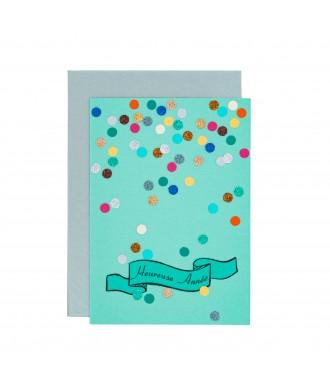 Carte Cotillons-heureuse année