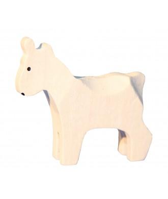 Petite chèvre blanche
