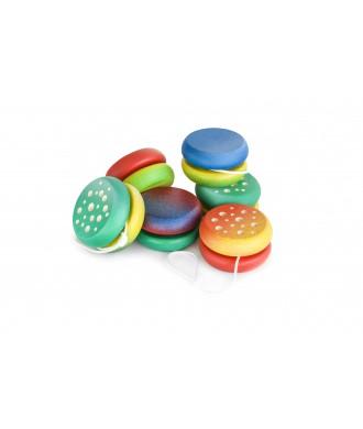 Yo-yos avec motifs