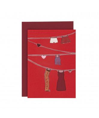 Carte vœux- Je t'aime