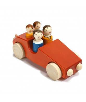Voiture Philippe 3 rouge