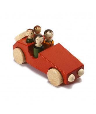 Voiture Philippe 2 rouge