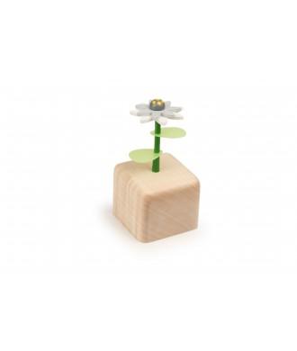 Boîte à musique fleur Edelweiss