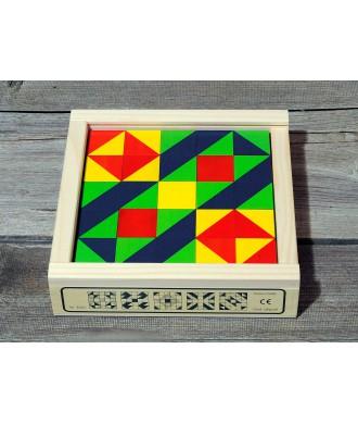 Puzzle cube mosaïque 25 pièces