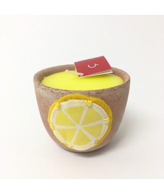 Bougie terra catena - Citronnelle