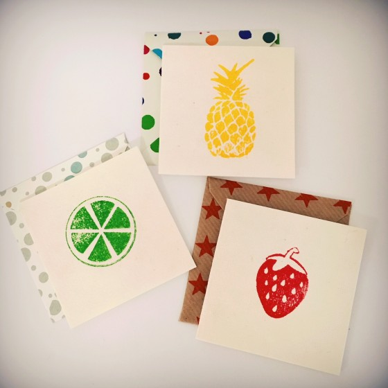 MINI-CARTES FRUITS